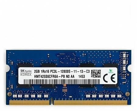 SO-DDR3L PC3-12800 2048Mb 1600MHz Hynix HMT425S6СFR6A-PB 1.35B